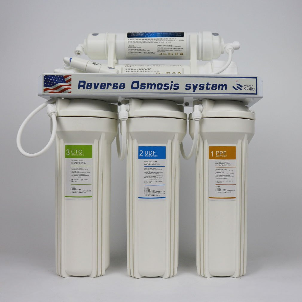 RO Water Systems RO75 Top Tier,Ultra Safe, pH Alkaline Calcium Mineral Reverse Osmosis Drinking Water System