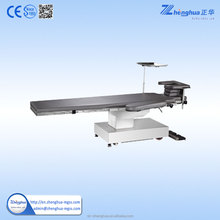medical adjustable folding stainless steel surgical table for clinic equipment