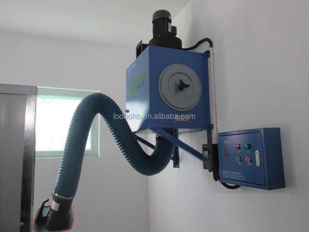 Wall Mount Welding Fume Extractor : Qingdao loobo wall mount welding smoke eaters fume