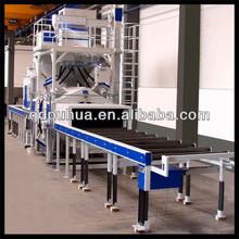 Roller Conveyor Steel Plate Shot Blasting Painting Line Shot Blasting Machine For Sale