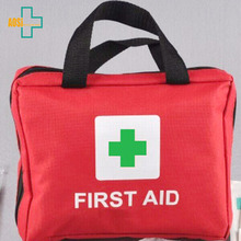 Portable emergency first aid kit canvas bag for home ,vehicle,outdoor emergency accident