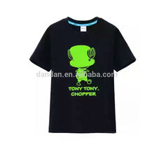 China clothing manufacturers custom led light up t shirt