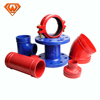 Ductile Iron Fittings For Pvc Pipe All Socket Tees