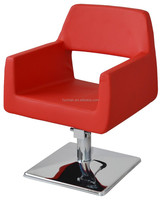 2015 Red reclining styling chair/Hair styling chair without headrest