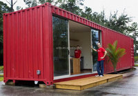 Renovated container house/ISO modified 40ft shipping container homes