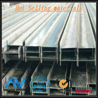 Hot Sale Material metal structural steel i beam price For Equipment Foundation From Shanghai Supplier