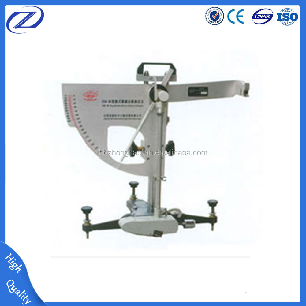 Stainless Steel Pendulum Friction Coefficient Meter/friction Testing Machine/skid Resistance Tester