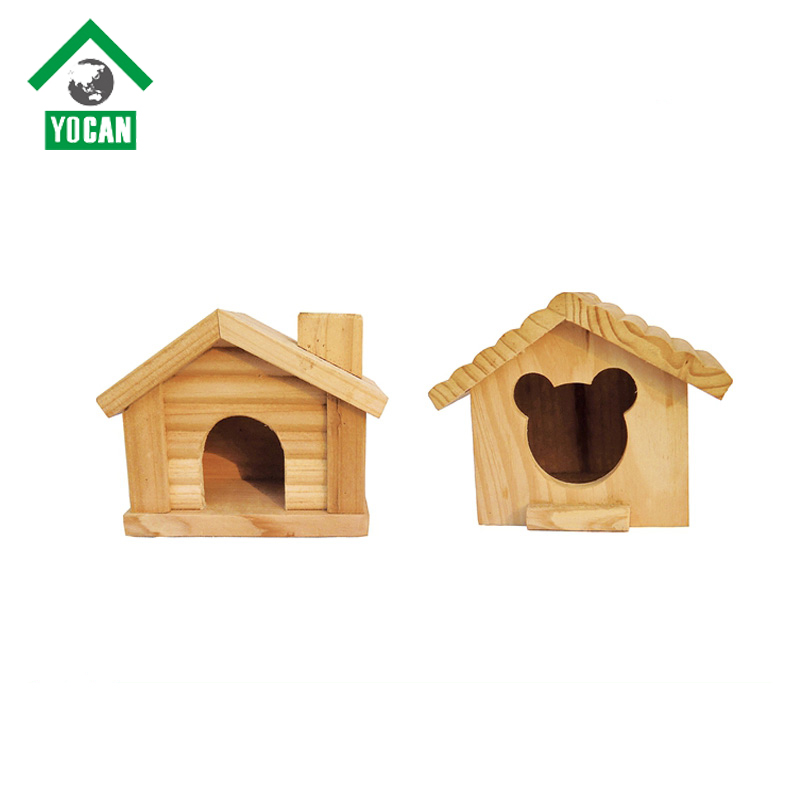 Stocked wooden hamster house hamster cages and hamster accessories