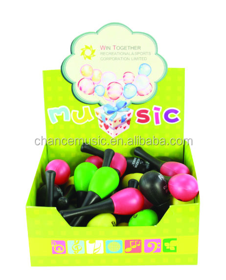 Hot Sale High Quality Plastic Maracas ABC-AM274-36