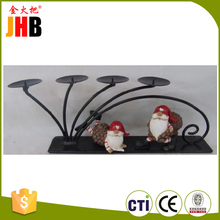 Top Quality antique christmas tree candle holders with CE certificate