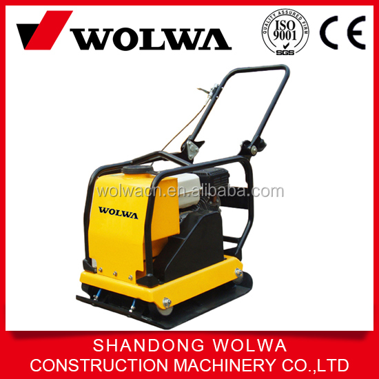 Wolwa road construction walk behind plate compactor for sale