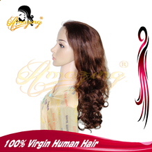 2016 Hot selling wholesale factory price virgin brazilian lace front wig 100% Human afro kinky curly lace front wholesale cheap