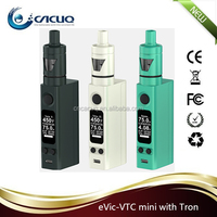 Best e-cigarette vaporizer Original Joyetech eVic VTC mini 75W kit with Tron-S/Tron-T tank with factory price 2015 new vape mod