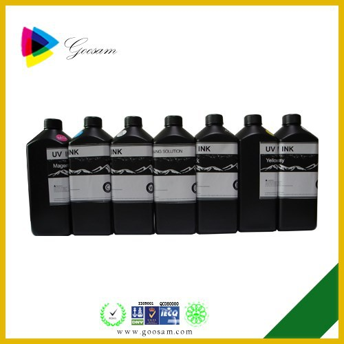 Shenzhen Goosam printing Ink Manufacturers UV Inkjet Printer Ink for All Brand Printer