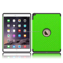 rhinestone case for Apple iPad pro protector cover, pc silicone cover for ipad pro