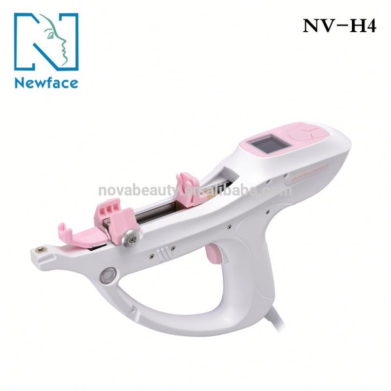 NV-H4 2017 hot sale beauty salon equipment professional microneedle therapy system meso gun for facial wrinkle removal whitening