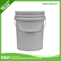 Brand new 5 gallon bucket plastic bucket 20 liter 20 liter keg with high quality