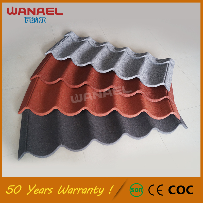 Lightweight U003cstrongu003eRoofingu003c/strongu003e Materials Guangzhou Factory Wanael  50 Year