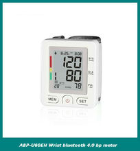 wrist bluetooth 4.0 blood pressure monitor smart phone