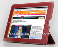 9.7 inch tablet case pu leather cover for iPad
