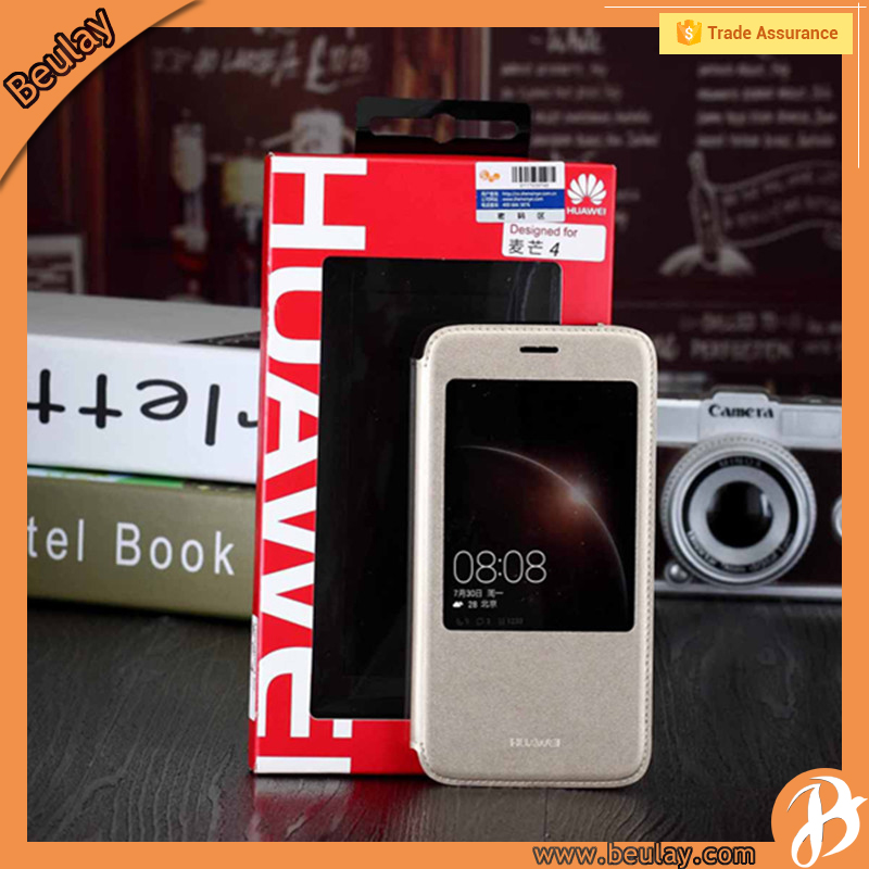 Original Window View Flip Cover Folio Case for Huawei Maimang 4 Bookstyle Case