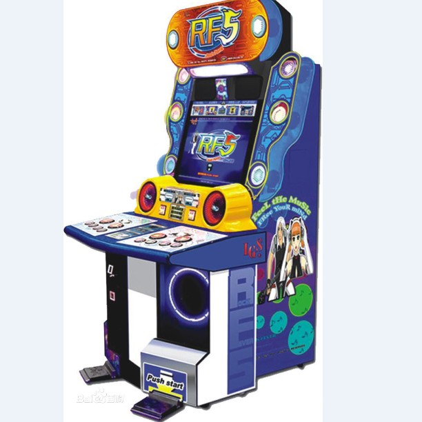 Whosale rock fever 5 RF 5Video Music Game Machine For Sale