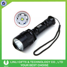 High power beam hunting green led flashlight