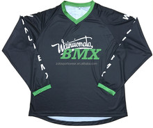 Customizable Long Sleeve Motocross and BMX Jerseys