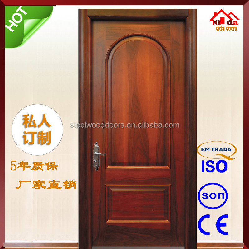 Wooden Main Arched Entry Door Designs Home