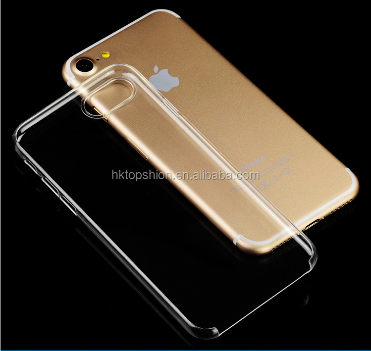 3D Sublimation Clear Hard PC Case for iPhone 7, For iPhone 7 Case Clear