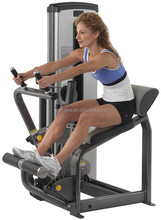commercial gym equipment Abdominal Machine/Back Extension fitness equipment