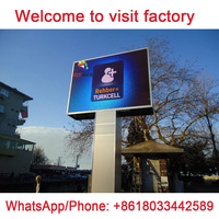 China Shenzhen Factory Competitive Price LED Display - P8 Outdoor Adverstise Sign Screen - Waterproof