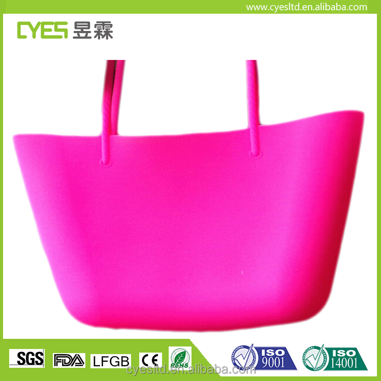 High Quality Silicone Colorful Jelly Bags Fashionable Soft Lading Shoulder Hangbag