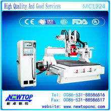 MC1224 - 3axis wood router CNCHIWIN linear square guide rail ball screw transmission 3 axes 1224 engraver wood art work milling