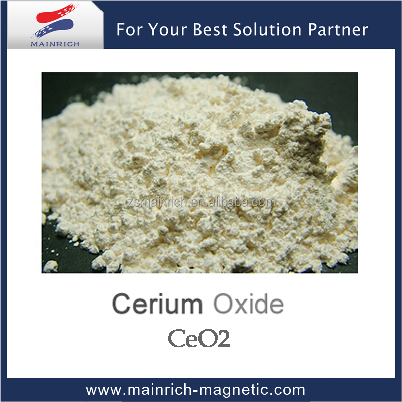 Supply High purity Cerium Oxide CeO2 of Rare Earth Oxide used in Used in glass ceramics electronics light-emitting materials