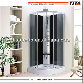 Luxury free standing shower enclosure