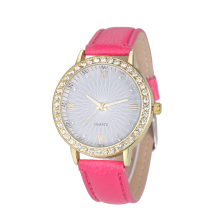 popular hot sale fashion pattern diamond watch for girls best dress watches