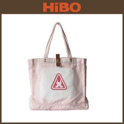 2015 promotion hot selling new stylish womens cotton canvas tote bag
