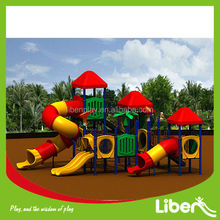 Kids Park Sand Play Outdoor Children Playground Equipment with Clear Playground Install Pictures