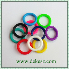 2016 hot-sale colorful rubber o rings for jewelry