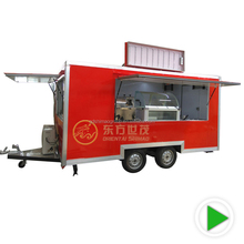 Stainless Steel factory price catering trailer food truck BBQ for sale