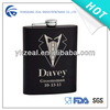 qulity stainless steel 8oz liquor hip flask