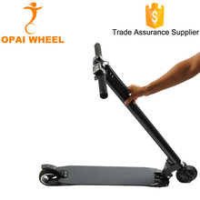 China Two Wheel Stand Up Folding Carbon Fiber Electric Scooter For Adult 2017 Skateboard Electric Kick Scooter