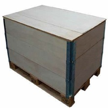 Foldable plywood Wire bound box/Wooden Crates