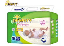 Baby Diapers, with NB size, Super soft perforated cotton fibre surface, Sumitomo SAP, magic tape