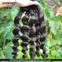 Best selling Ideal hair arts grade 7A light brown peruvian virgin hair