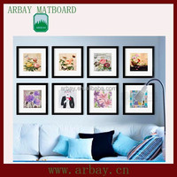wholesale wall art matboard for decorative the picture frame and digital frame