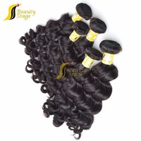 Beauty Fashion, Natural Color Virgin Peruvian Wavy Hair 100% remy human virgin hair peruvian