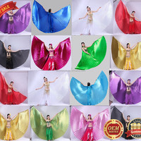 BestDance Belly Dance Wings Professional Close
