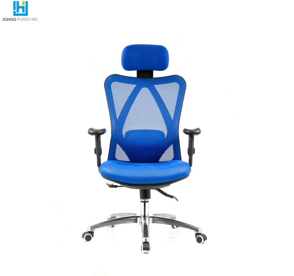 High Quality New Model Chair High Back Gas Lift Swivel Ergonomic Mesh Office Recliner Chair with Wheel Base